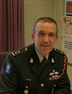 Luitenant-kolonel D.J. (Derk Jan) Klompsma